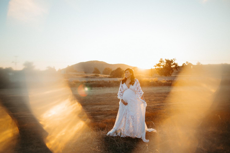maternity dress fashion camille camacho photography